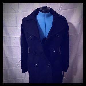 Women's double breasted coat by Anne Klein